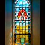 Our-Lady-Window,-Rathmullan-Church